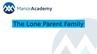 The-Lone-Parent-Family.pptx