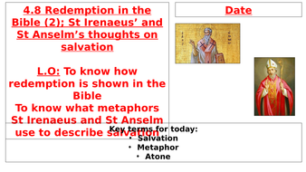 AQA B - 4.8 - Redemption in the Bible (2)