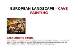 CAVE-PAINTING----Teaching-Ideas.docx