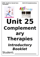 BTEC Level 3 Health & Social Care Unit 25 Complementary