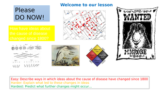 Ideas about causes of disease and illness  1900-present