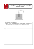 Specific Heat Capacity Required Practical Starter