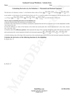 Calculus-Worksheet---Derivatives-by-Definition-1.pdf