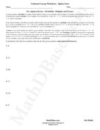 Basic-Algebra-Worksheet-1---Pre-Algebra-Review---Divisibility--Multiples-and-Factors.pdf