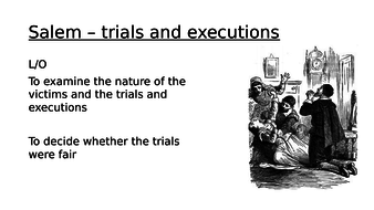 Salem - trials and executions