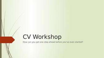 CV-Workshop.pptx
