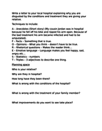 Formal letter planning sheet low ability