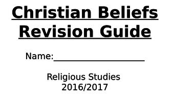 Edexcel GCSE Religious Studies B (2016): Christian Beliefs