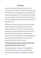 essay child labor by tacss teaching resources tes unit of work
