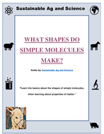 Chemistry - WHAT SHAPES DO SIMPLE MOLECULES MAKE: FuseSchool Chemistry