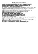 Muslim-beliefs-exam-questions.docx