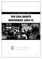 Edexcel GCSE 9-1 History: Civil Rights 1954-75 revision workbook