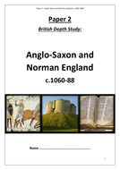 Edexcel GCSE 9-1 History: Anglo Saxons and Normans revision workbook