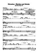 DICTATION - RHYTHM & MELODY (3)