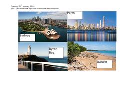Australia 5 week unit plan