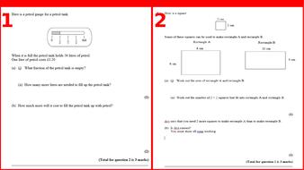 gcse problem solving questions edexcel by nickwaldron teaching resources. Black Bedroom Furniture Sets. Home Design Ideas