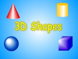 Y2/3 3D Shapes