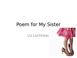 the choosing liz lochhead