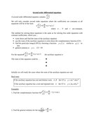 Second order differential equations worksheet by langy74 - Teaching ...