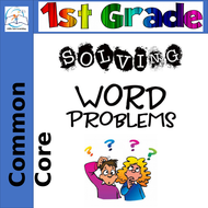 1st Grade Word Problem of the Day {Yearlong BUNDLE}