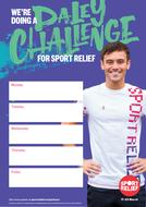 Sport Relief 2018: Challenge Event poster