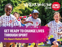 Sport Relief 2018: Primary Sport for Change assembly