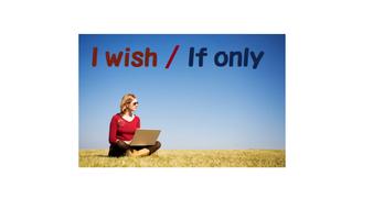 Wish/ If only grammar point
