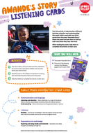 Sport Relief 2018: Nurseries Listening Cards