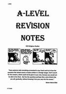 OCR Religious Studies, Philosophy of Religion Revision Booklet, new spec 2016