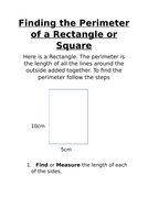 Finding the Perimater of a square or rectangle