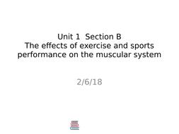 2016 BTEC Level 3 Sports Unit 1 Anatomy +Physiology