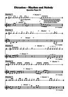 DICTATION - RHYTHM & MELODY (4)