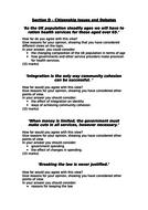 Citizenship GCSE Paper 1 - Revision - Theme A, B & C