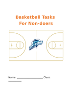 Basketball Non-doer Workbook / Tasks