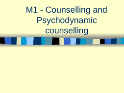 M1---Psychodynamic-counselling-evaluated.ppt