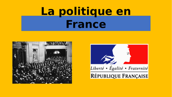 A2 AQA la politique en France