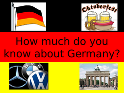 GERMAN QUIZ