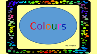 Learn how to say the colours in English.