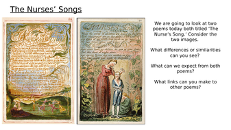 Songs of Innocence- and Songs of Experience