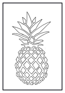 printmaking tutorial pineapple template instructions by