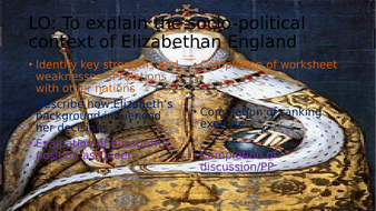 Introduction to Elizabethan England