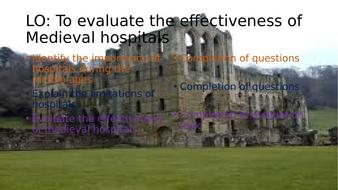 Medieval hospitals
