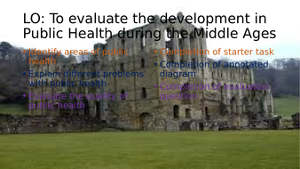 Public health in the Middle Ages