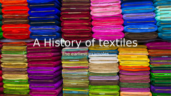 A basic history of weaving and felting