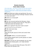 Olympics Assembly