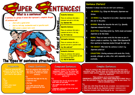 Sentence Structure Learning Mat
