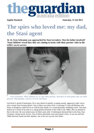 Stasiland - The Spies Who Loved Me