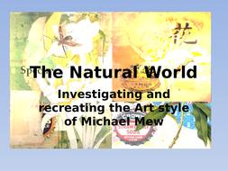 PP investigating Michael Mew, collage artist
