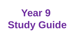 Year-9-Study-Guide.ppt