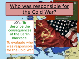 Who was to blame for the Cold War